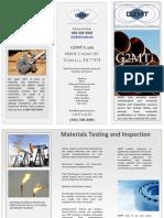 G2MT Labs Brochure