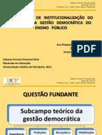 anpedinha - apresentação gestão democratica set 2011