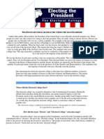 Electoral College Reading and Handout