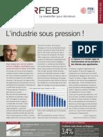 L'industrie sous pression !, Infor FEB 32, 20 octobre 2011