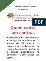 Dia Mundial Das Bibliotecas Escolares[1]