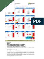 Calendarios Laboral Tragsatec 2011