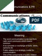 Communications & PR