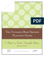 Ultimate Baby Shower Planning Guide