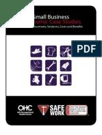 Small Business Ergonomic Case Studies