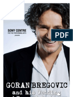 Goran Bregovic - Sony Centre Digital Program
