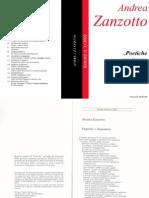 Estratti da Poetiche 1/2002 - Speciale Zanzotto
