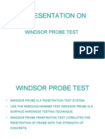 Windsor Probe Test