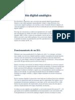 Conversión analogica digital