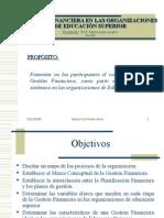 AMERIO-GERENCIA FINANCIERA EN LAS ORGANIZACIONES DE EDUCACIÓN SU