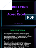 El Bullying o Acoso escolar