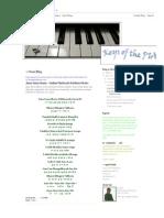Keys of the PIANO_ Jana Gana Mana - Indian National Anthem Notes