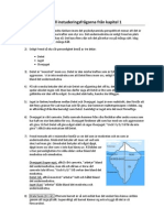 Facit till instuderingsfrågorna från kapitel 1