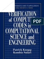 Verification of Computer Codes in Computational Science and Engineering~Tqw~_darksiderg