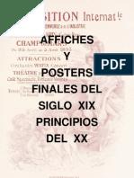 Affiches y Posters finales del  siglo XIX principios del XX