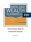 Three Simple Steps to Investment Success