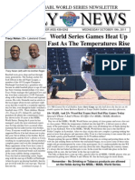 MSBL World Series Daily News - Oct 19 2011