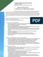 Latin American Youth Declaration