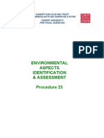 Environmental Aspects Identification and Assessment - Proc