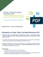 Etude Deloitte State of the Media Democracy - Women's Forum2011