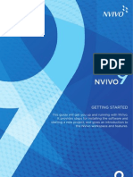 NVivo9 Getting Started Guide