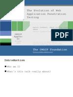 AppSec2005DC-Dan_Cuthbert-Evolution_of_App_Pen_Testing