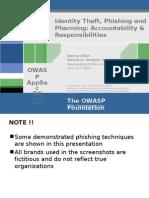 AppSec2005DC-Danny_Allan-Identity_Theft_Phishing_and_Pharming