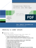 AppSec2005DC-Gunnar_Peterson-Identity-Services-in-WebApps