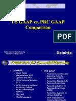 Us Gaap vs. Prc Gaap1