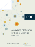 Catalyzing Networks for Social Change