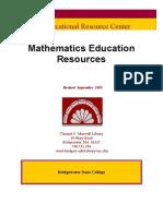 Math Ed