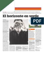 Diario El Comercio 'El horizonte en verde' Arq. Ken Yeang