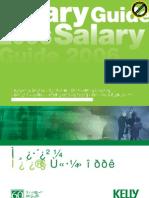 kellysalarythai_salary survey 2006