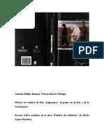 Reseña crítica- analítica Política sin violencia 3