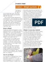 Widgit Symbols - Sensory Therapy Gardens Fact Sheet