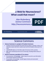 A Semantic Web for Neuroscience What Could That Mean