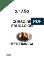 3 año curso Educacion Mediumnica