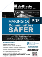 Making Our Communities Safer - Manhattan Edition
