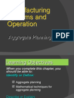 Ch13 Aggregate Planning