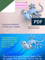 GUÍA ELABORACIÓN DE UN PLAN DE CALIDAD