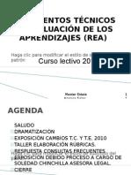 CAPACITACIÓN REA-2010 25ABRIL