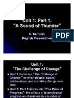 """A Sound of Thunder"" Presentation"