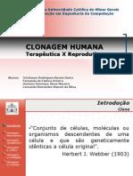 Clonagem Humana - Terapêutica X Reprodutiva