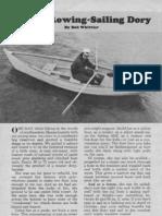 Rowing Sailing Dory