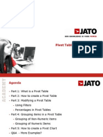 Pivot Table in Excel 2007 Training
