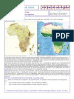 África - Hidrografia, Clima e Vegetação