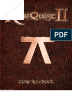 RuneQuest II Core Rulebook