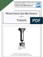 M+®canique R+®sistance Des Mat+®riaux 7 E Travaux Dirig+®s Torsion