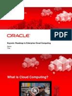 Cloud Summit Keynote 300159