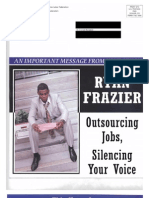 AFL CIO Smear Piece on Ryan Frazier